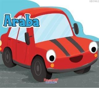 Araba - Şekilli Kitap