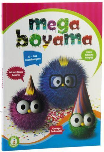 Mega Boyama Kitabi Kolektif 9789756580820 Kitap