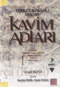 Türkçe Kökenli Macar| Kavim Adları
