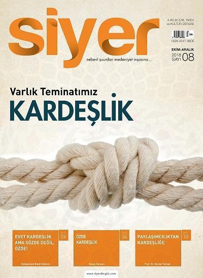 Siyer İlim Tarih Dergisi - 8. Sayı