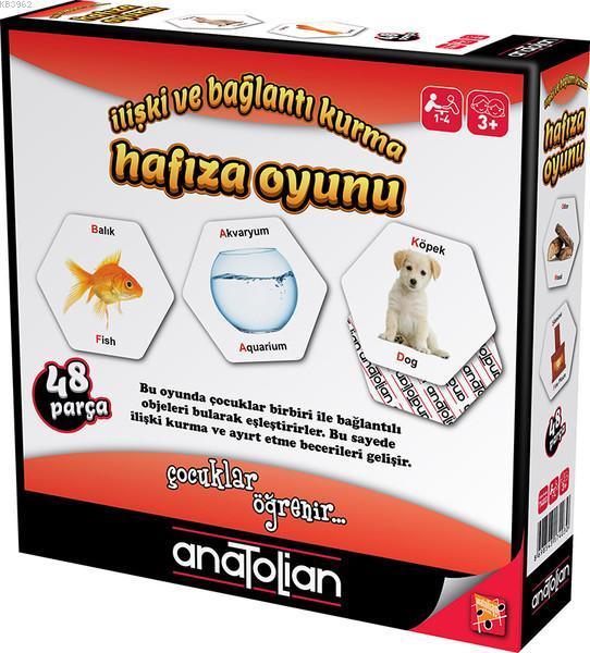 Anatolian İlişki ve Bağlantı Kurma Hafıza Oyunu