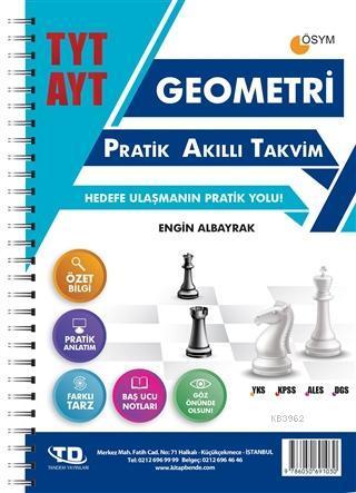 TYT - AYT Geometri Pratik Akıllı Takvim