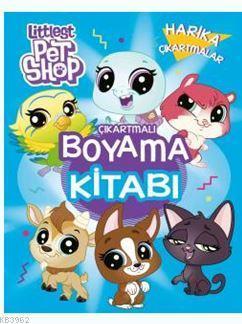 Littlest Pet Shop Çıkartmalı Boyama Kitabı; Harika Çıkartmalar