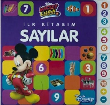Mickey ve ÇılgınMickey ve Çılgın Yarışçılar - İlk Kitabım Sayılar