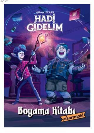Disney Pixar - Hadi Gidelim Çıkartmalı Boyama Kitabı