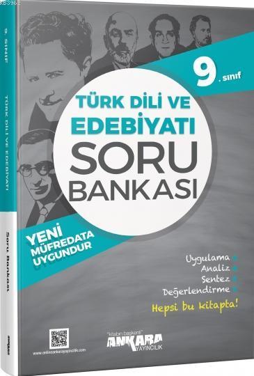 Ankara Yayınları 9. Sınıf Türk Dili ve Edebiyatı Soru Bankası Ankara