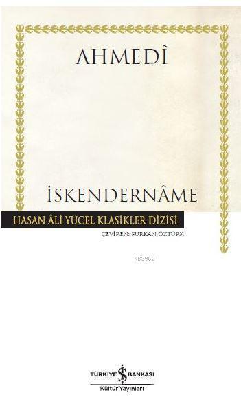 İskendername; Hasan Ali Yücel Klasikler Dizisi
