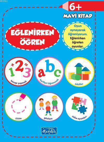 Eğlenirken Öğren Mavi Kitap 6