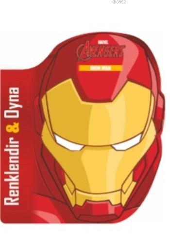 Marvel Avengers  Iron Man; Renklendir&Oyna