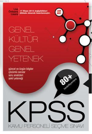 Kpss Genel Kültür Genel Yetenek Lise Önlisans Konu Anlatımlı Tek Kitap