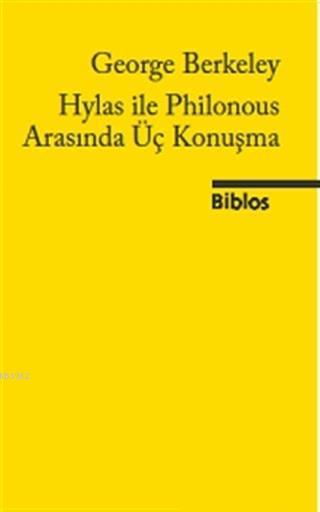 Hylas ile Philonous Arasında Üç Konuşma