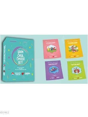 Şirin Okul Öncesi Seti; 5 Kitap Takım Puzzle Poster