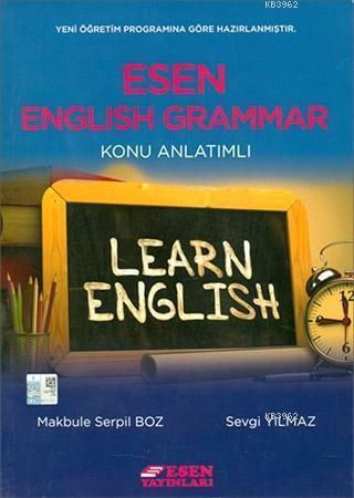 Esen Yayınları English Grammar Konu Anlatımlı Esen