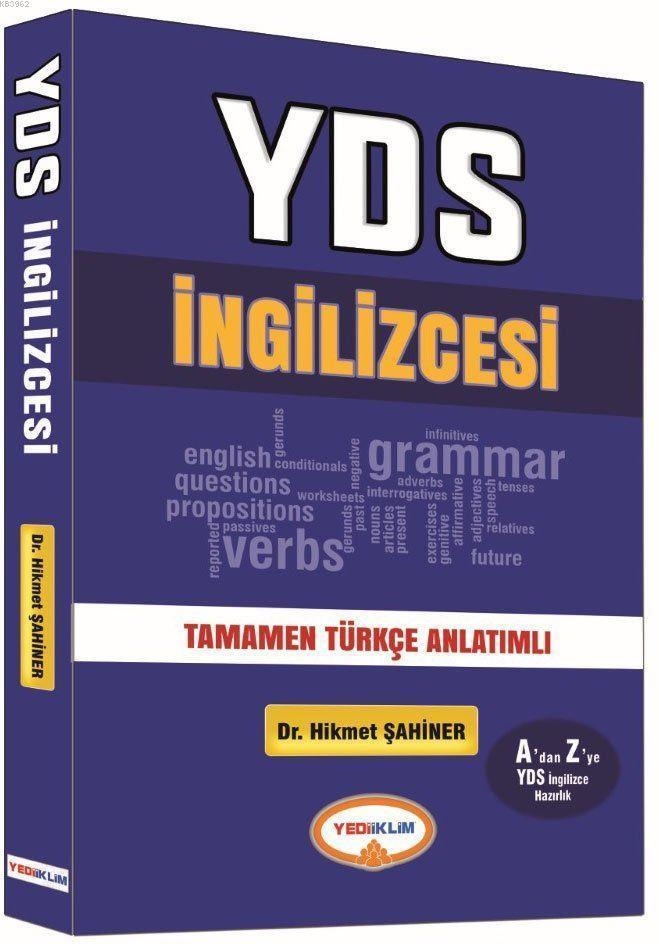 YDS İngilizcesi Türkçe Anlatımlı 2017