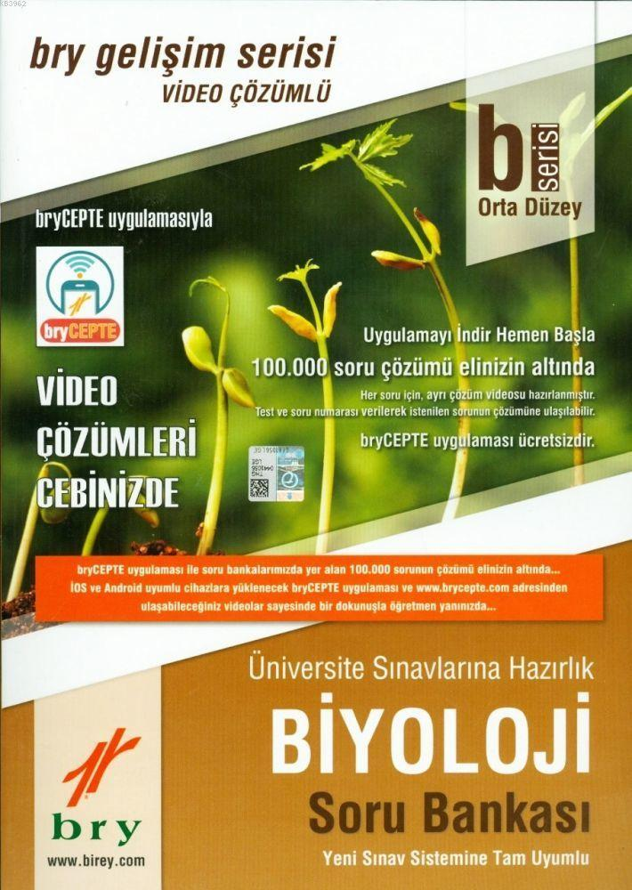 B SerOrta Düzey Biyoloji Video Çözümlü Soru Bankası Gelişim Serisi