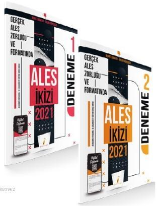 ALES İkizi 2 Özgün Deneme Sınavı Dijital Çözümlü
