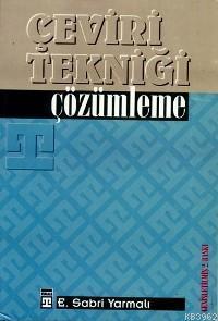 Çeviri Tekniği; Çözümleme