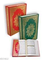 Kur'an'ı Kerim; Tevaffuklu (rahle Boy, Renkli)