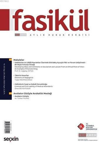 Fasikül Aylık Hukuk Dergisi Sayı: 101 Nisan 2018
