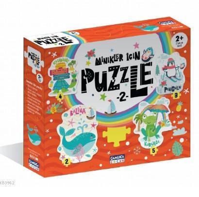 Minikler İçin Puzzle - 2 (Kutulu)
