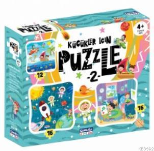 Küçükler İçin Puzzle - 2 (Kutulu)