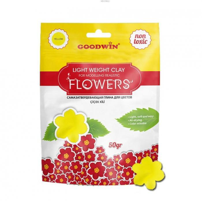 Goodwin Çiçek Kili 50Gr Sari