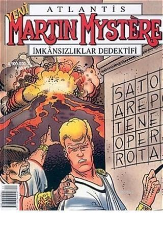 Atlantis Yeni Seri Sayı: 40 Martin Mystere İmkansızlıklar Dedektifi Sator Bilmecesi