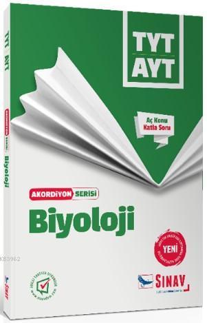 Sınav Dergisi Yayınları TYT AYT Biyoloji Akordiyon Serisi Aç Konu Katla Soru Sınav Dergisi