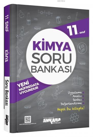 Ankara Yayınları 11. Sınıf Kimya Soru Bankası Ankara