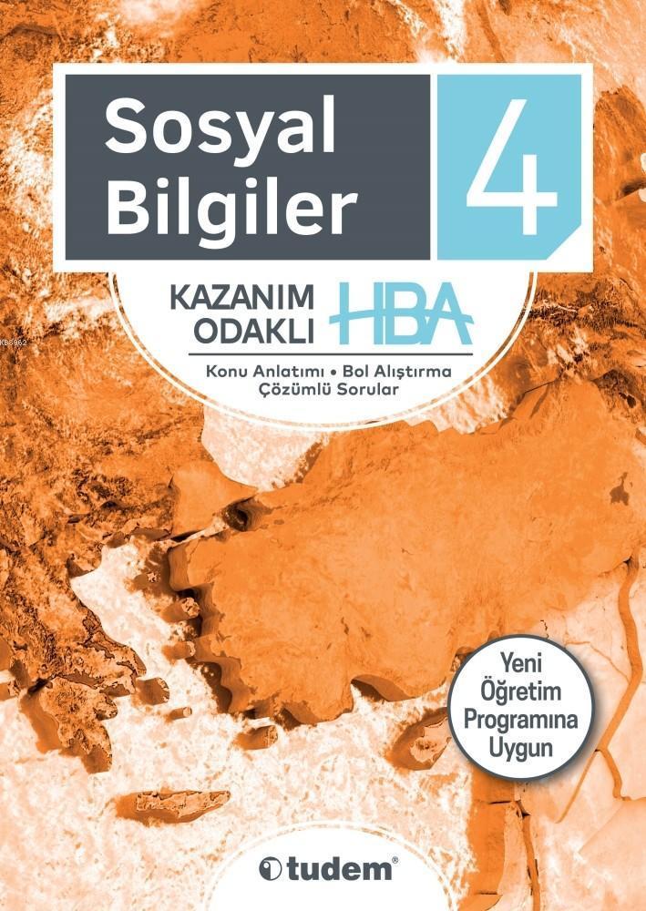 Tudem Yayınları 4. Sınıf Sosyal Bilgiler Kazanım Odaklı HBA Tudem