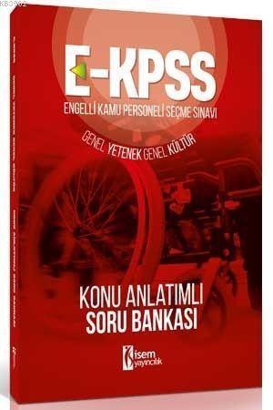 2018 E-KPSS Genel Yetenek Genel Kültür; Konu Anlatımlı Soru Bankası