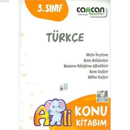 3. Sınıf Türkçe Konu Kitabım