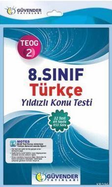 8. Sınıf TEOG 2 Türkçe Yıldızlı Konu Testi