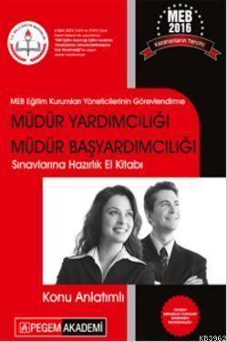 MEB 2016 Müdür Yardımcılığı Müdür Başyardımcılığı Sınavlarına Hazırlık El Kitabı