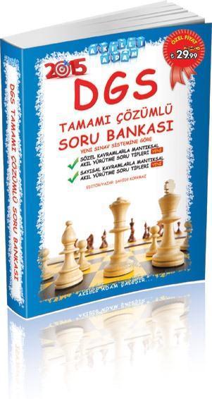 DGS Tamamı Çözümlü Soru Bankası; 2015