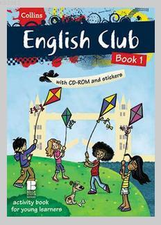 Collins English Club Book 1 - Çıkartmalı ve CD'li