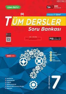 SBM Yayınları 7. Sınıf Tüm Dersler Soru Bankası SBM