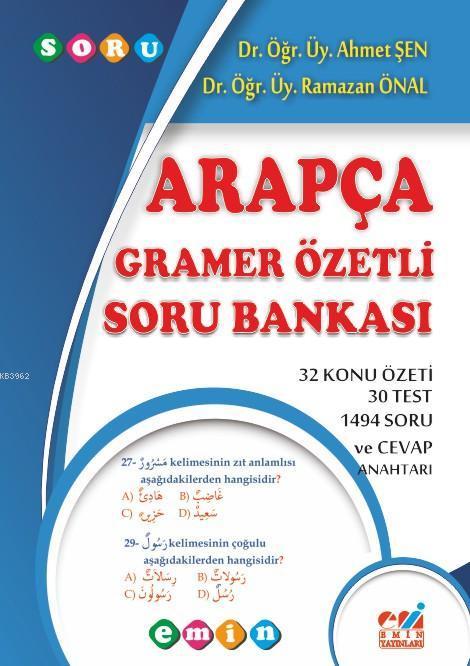 Arapça Gramer Özetli Soru Bankası; Arapça