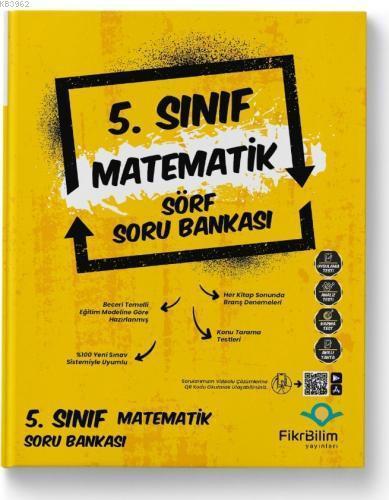 Fikri Bilim 5.Sınıf Matematik Sörf Soru Bankası