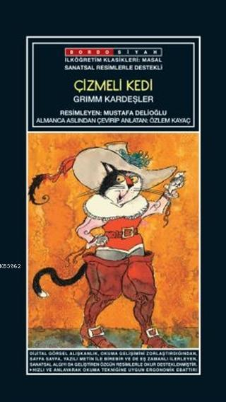 Sanatsal Resimli Çizmeli Kedi; Grimm Masalları