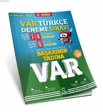 8. Sınıf Türkçe VAR Deneme Sınavı Arı Yayıncılık