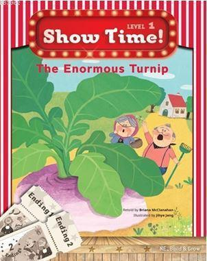 The Enormous Turnip + Workbook + Multirom (Show Time Level 1)