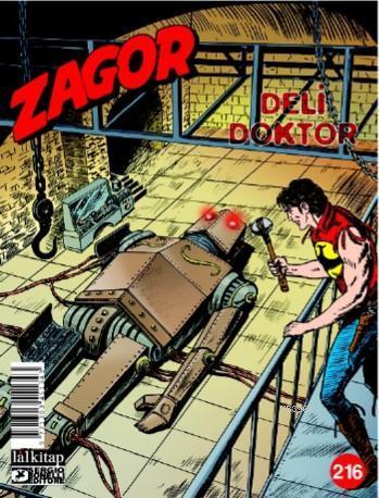 Deli Doktor; Zagor Sayı 216