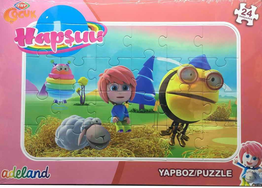 Trt Çocuk 24 Parça Hapşuu Puzzle 201929
