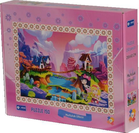 Adam Games Mutluluk Ülkesi 150 Parça Puzzle 28x40