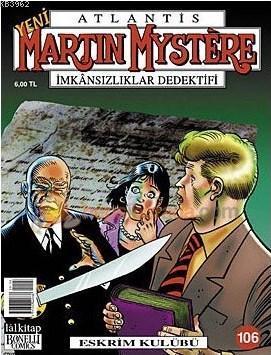 Martin Mystere Sayı 106 Eskrim Kulübü