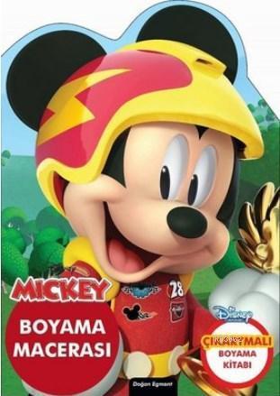 Mickey - Özel Kesimli Boyama Macerası