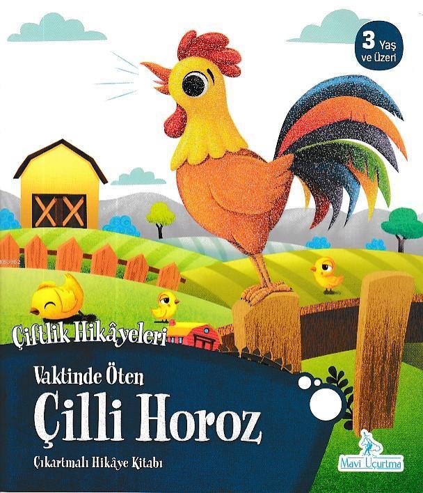Vaktinde Öten Çilli Horoz - Çiftlik Hikayeleri