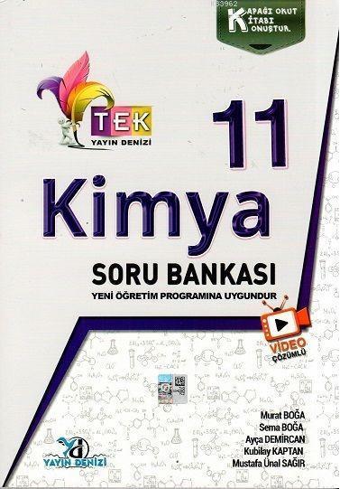11.Sınıf Tek Vd.Çöz. S.B. Kimya - 2020