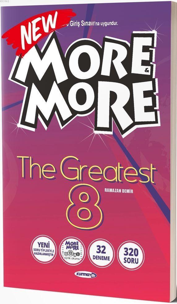 Kurmay ELT Yayınları More and More 8 The Greatest Kurmay ELT